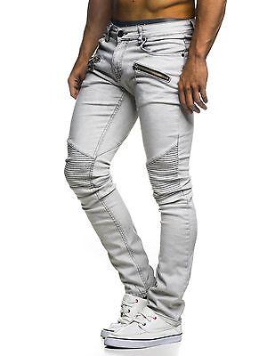 1bd88b0f50 LEIF NELSON Herren Hose Jeans Jeanshose Freizeithose Denim LN273D   eBay