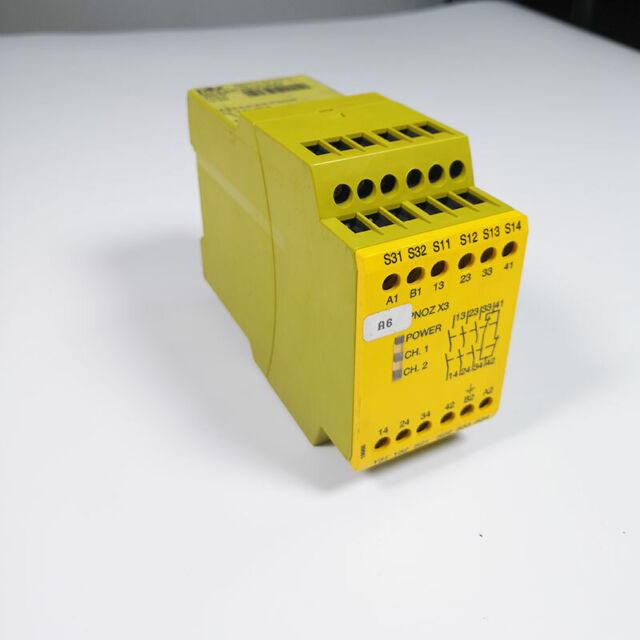 Used Pilz PNOZ X3 24VAC 24VAC/DC 3S101H 774310