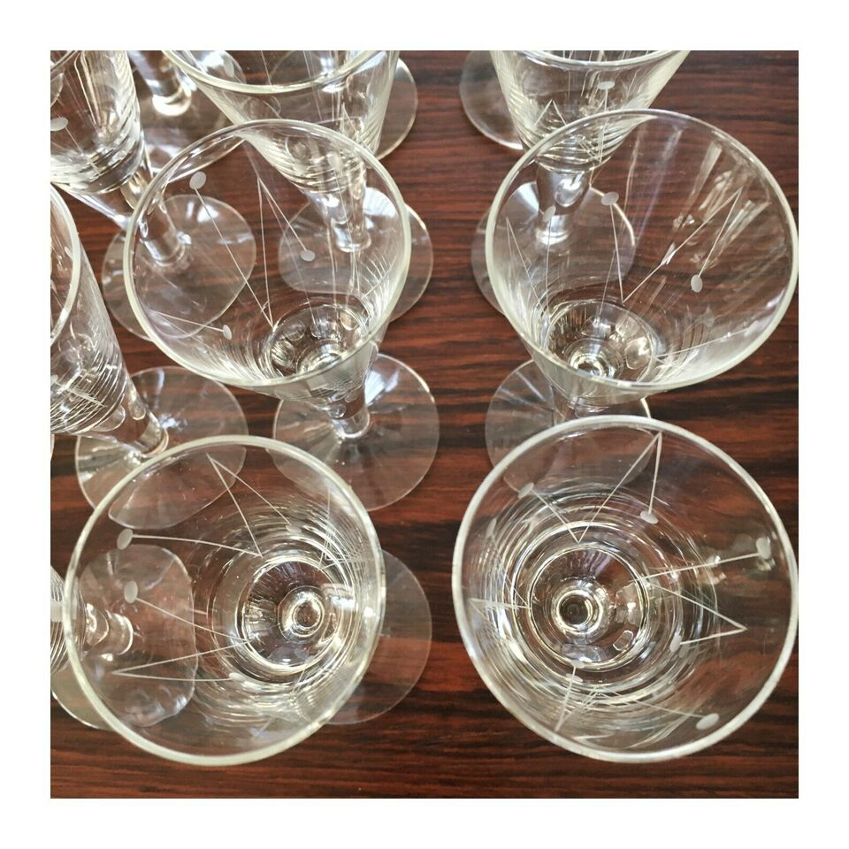 Glas, Clausholm , Holmegaard