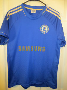 Chelsea London Samsung  9 TORRES Home Football Shirt Soccer Jersey ... 283e72306
