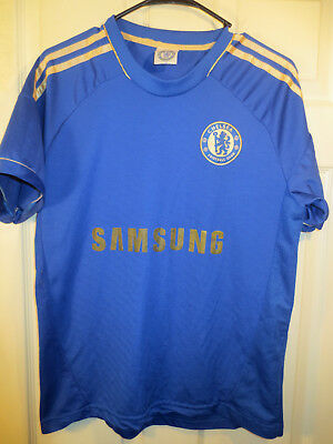 best service 8721a 61db3 Chelsea London Samsung #9 TORRES Home Football Shirt Soccer Jersey Size  Medium | eBay