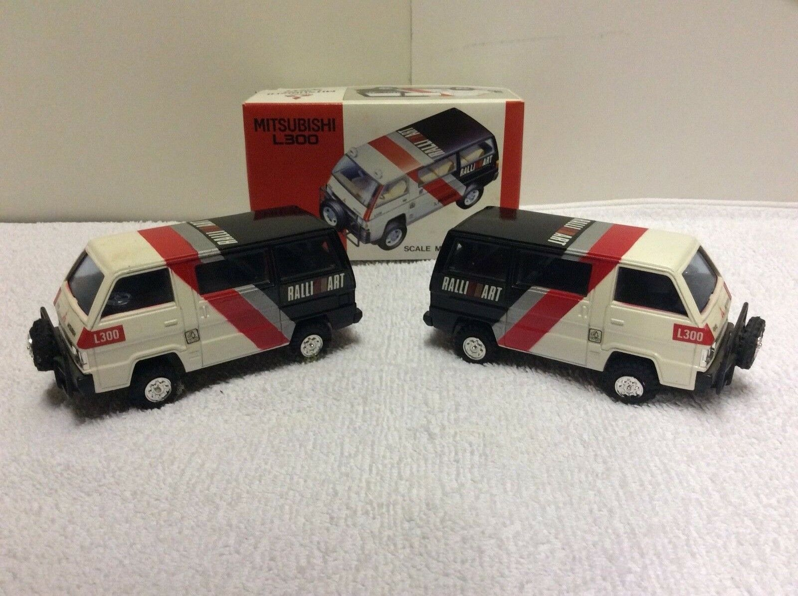 Ultimate Mitsubishi L300 Ralliart Support Edition Model Collection - WRC