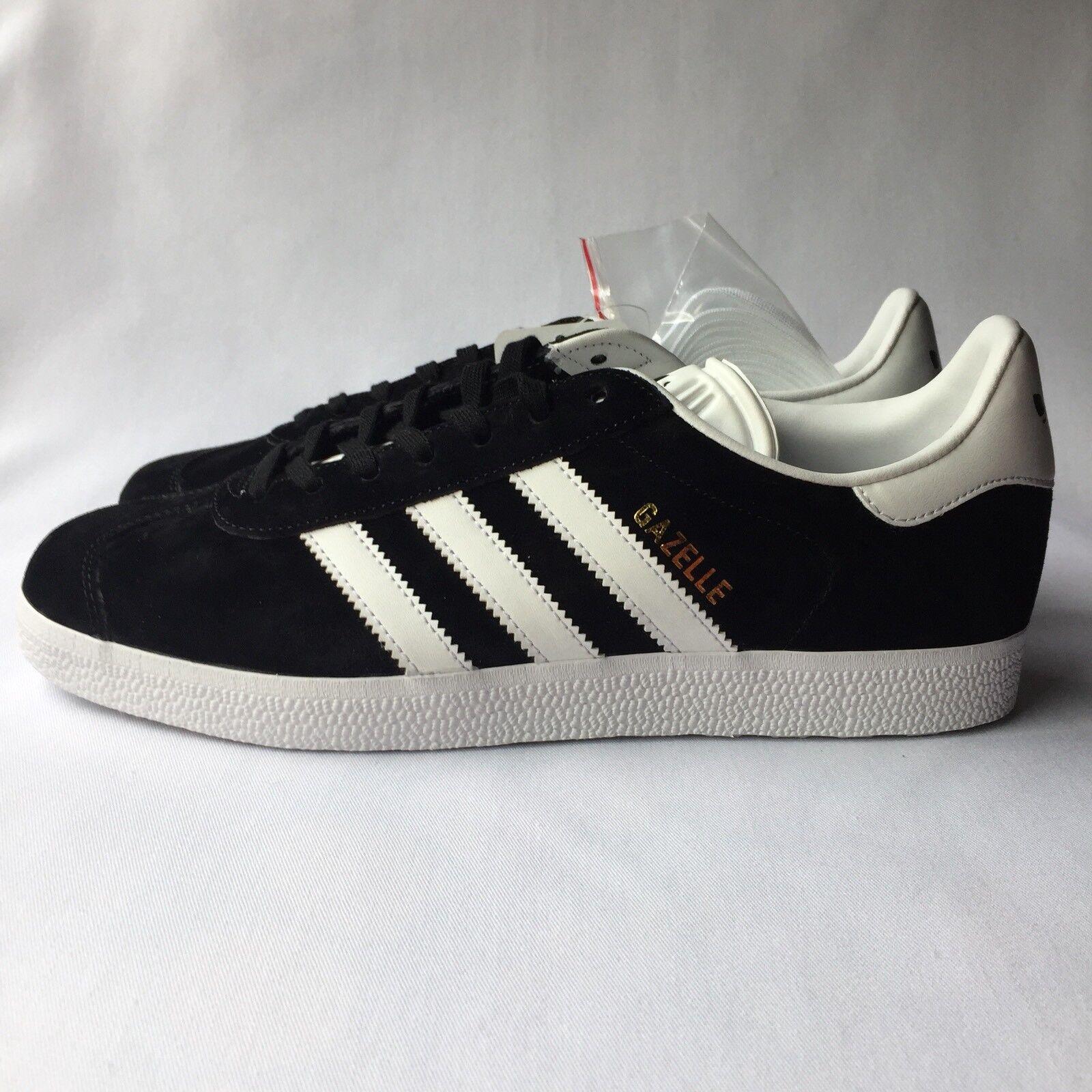 adidas originals gazelle frauen - turnschuhe, schwarz / ba9595 weiß - größe 8,5 ba9595 / c46db4