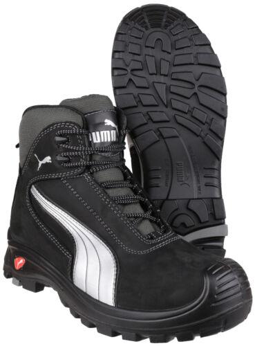 13 stivali Uomo Puma S3 scarpe nero Cap Midsole Safety Toe Mid Cascades Uk6 zqwxCz1F7