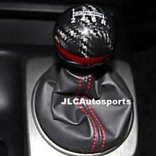 Genuine CARBON FIBER Red MUGEN shift knob for Honda CR-Z CIVIC ACCORD S2000 FA5