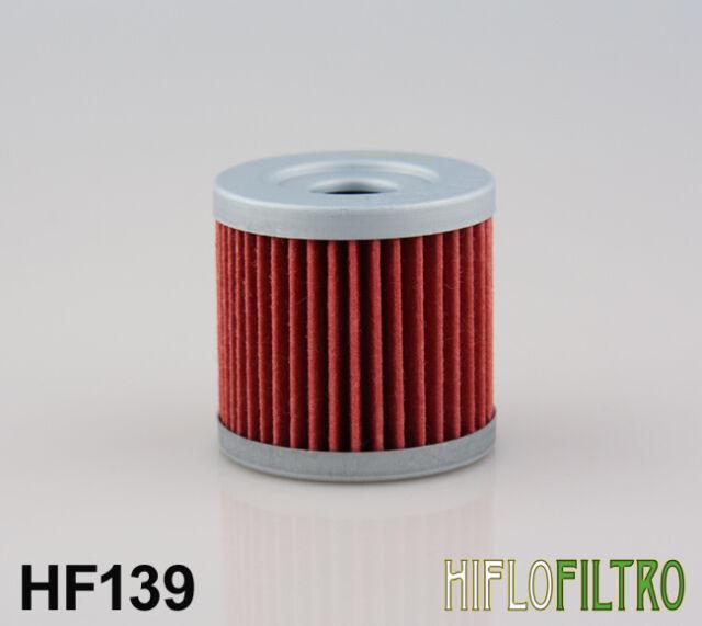 HiFlo HF139 - Fits Suzuki DR-Z 400 (00-13) Motorcycle Oil Filter HF 139 - DRZ400