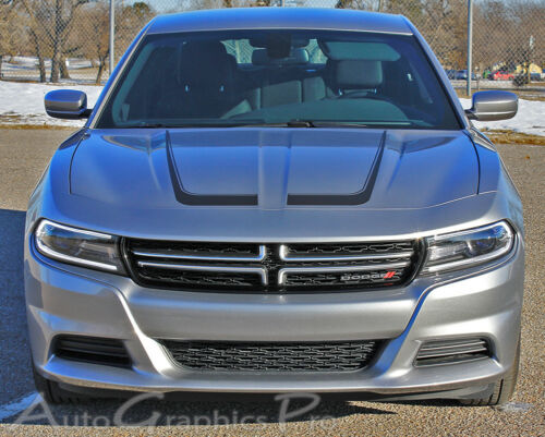 C STRIPE 152015-2018 Dodge Charger C Side /& Hood Decal Stripes 3M Wet Install