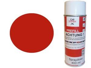 1x-Couleur-de-Spray-400ml-1K-Peinture-Voiture-Ral-3020-Rouge-Trafic-Claire-Acryl