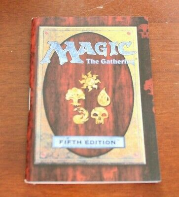 Magic The Gathering Fifth 5th Edition Rulebook USED Strategy Guide Wotc 1997
