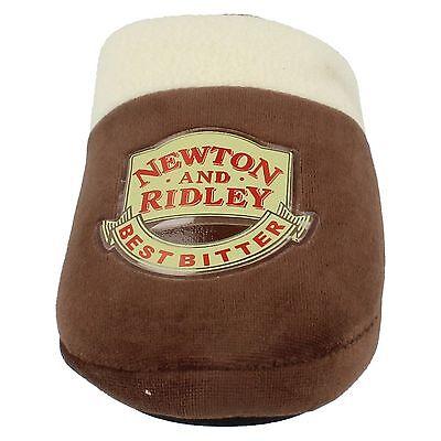Para Hombre Marrón Silent noche Slip On Newton Ridley Coronation Street Zapatillas Mulas &