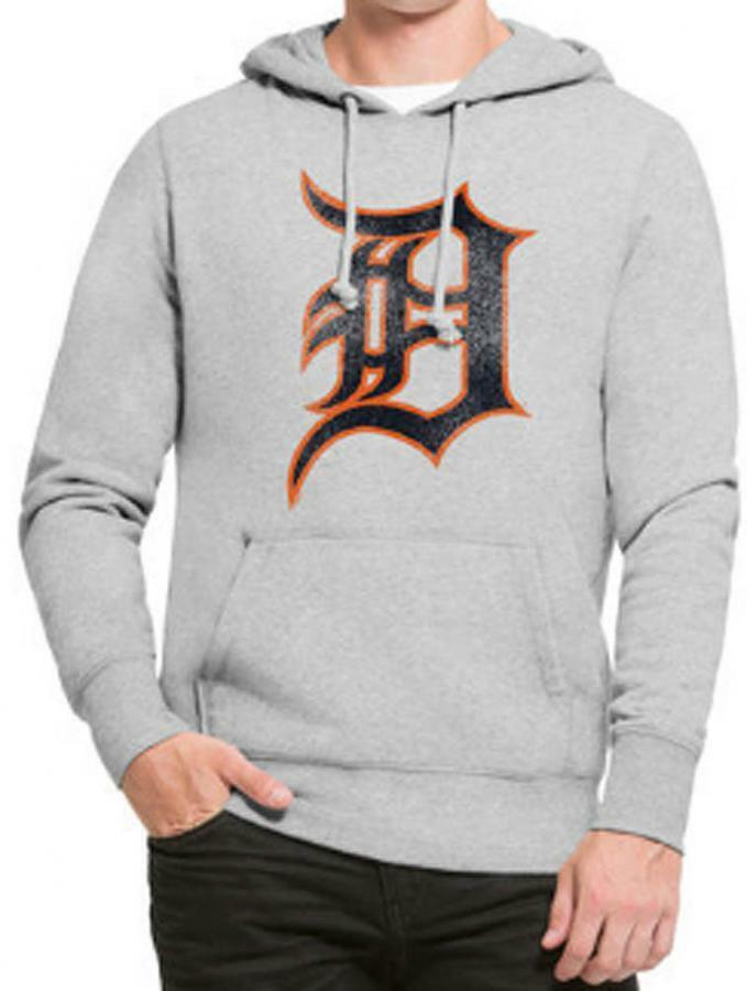 Forty Seven 47 Brand Detroit Tigers Knockaround Knockaround Knockaround Headline Hoody Kapuzenpullover 99ef05