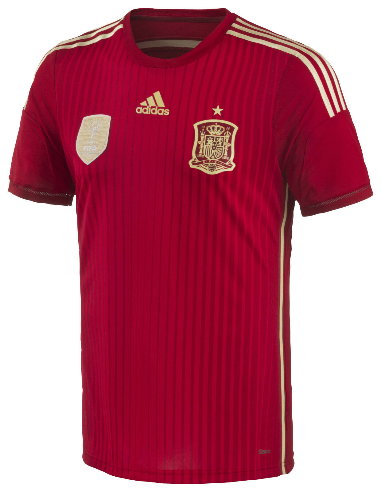 ADIDAS FEF H JSY T-SHIRT OFFICIAL SPAIN WORLD BRAZIL 2014 (PVP IN STORE 79E)