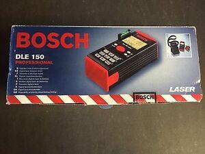 Bosch Entfernungsmesser Dle 150 : Bosch dle laser measure ebay