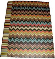 Missoni For Target Composition Book Brown, Black, Blue -