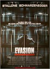 EVASION ESCAPE PLAN Movie Poster / Affiche Cinéma ARNOLD SCHWARZENEGGER