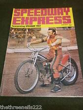 Speedway Express-Jan 1972-Newport Cubierta Trasera