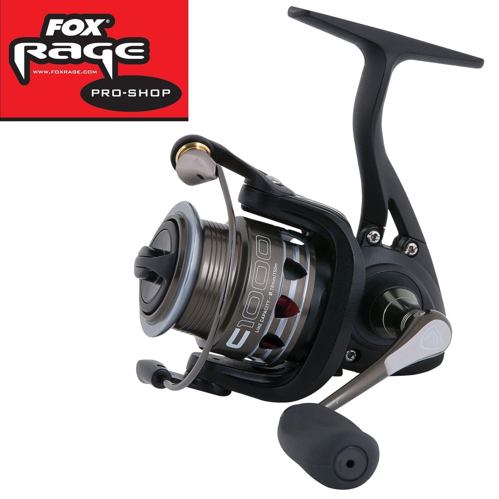 Fox Rage Prism C1000 Rolle, Rolle, Rolle, Angelrolle zum Spinnangeln, Stationärrolle 1d0058
