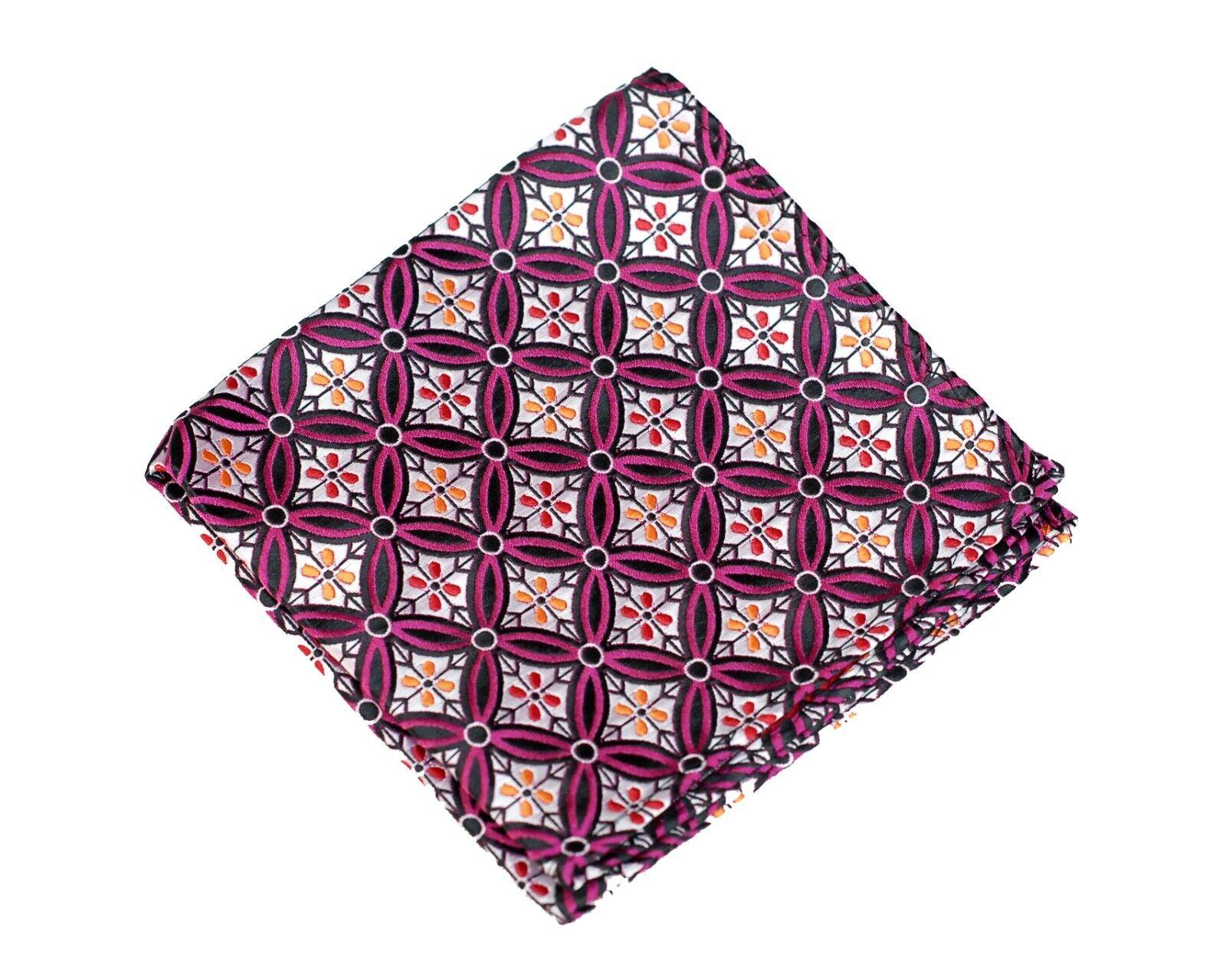 Lord R Colton Masterworks Pocket Square Salvador Onyx Pink Silk - Retail New