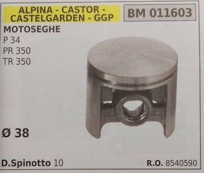 Effizient 8540590 Kolben Komplett KettensÄge Alpina Castor Castelgarden Stiga Ggp P34