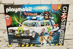 Playmobil-Ghostbusters-Ecto-1-Action-Vehicle-with-Sounds-and-Lights-79pc