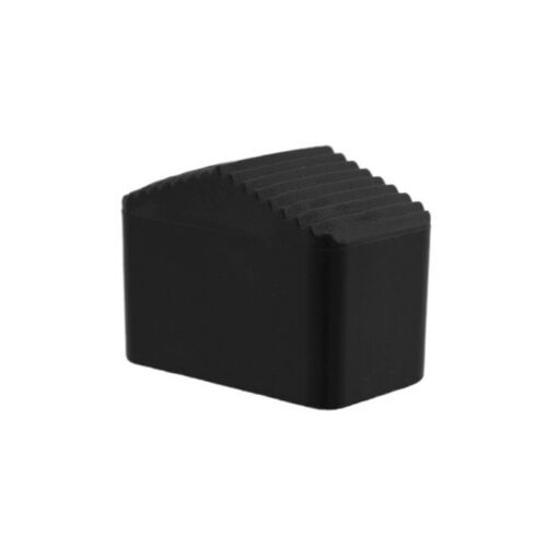 Fusskappe 33 x 20 mm schwarz 2 x 15° schräg Stuhlkappen Fusskappen Gartenmöbel