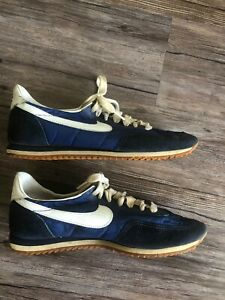 Rare 1982 Nike Waffle Racer Blue White
