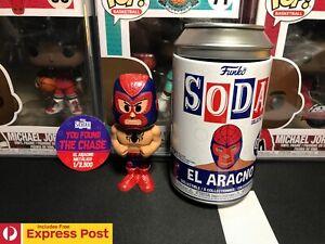 MARVEL LUCHA LIBRE EL ARACNO METALLIC CHASE FUNKO SODA VINYL FIGURE LE 2500PCS