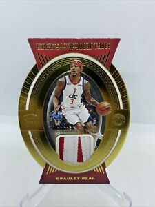 2020-21 Crown Royale BRADLEY BEAL Gold Knights Of The Round Table Patch 9/25