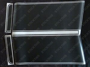 HQ-GTS-Stripe-Kit-Ute-Panelvan-Front-Stripes-Black-Decals-Stickers-Holden