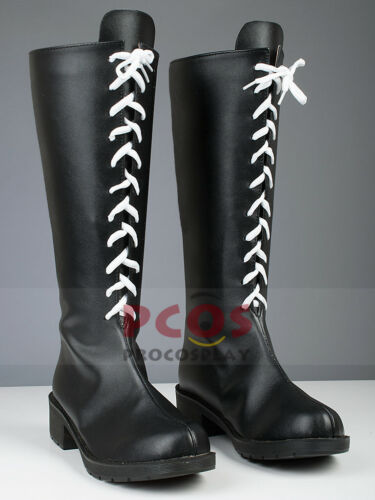 Final Fantasy 7 Yuna Cosplay Shoes Boots mp002898