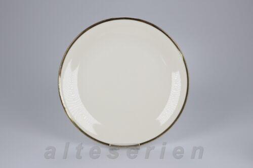 Speiseteller  D 24 cm Seltmann Weiden Isolde Schwarz Gold 32086 32098 32088