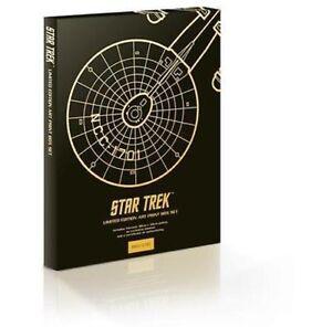 13-STAR-TREK-LIMITED-EDITION-PRINTS-BOX-SET-30x40cm-526-1701-RETRO-ORIGINAL-NEW