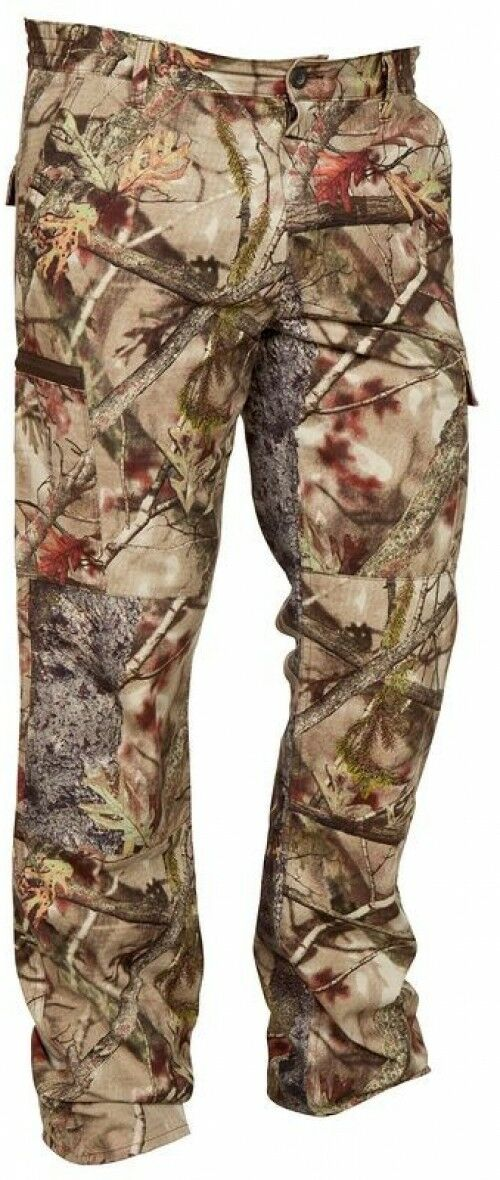STEPPE ACTIKAM HUNTING  SHOOTING TROUSERS - CAMOUFLAGE BROWN, Size L