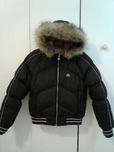 Jlo Worm Size bomber Reversible Black Winter Small Jacket Puffer TTxHrz