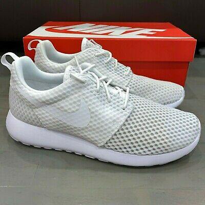 discount sale detailing delicate colors Nike Roshe One BR Breeze White White Wolf Grey 718552-110 Men's ...