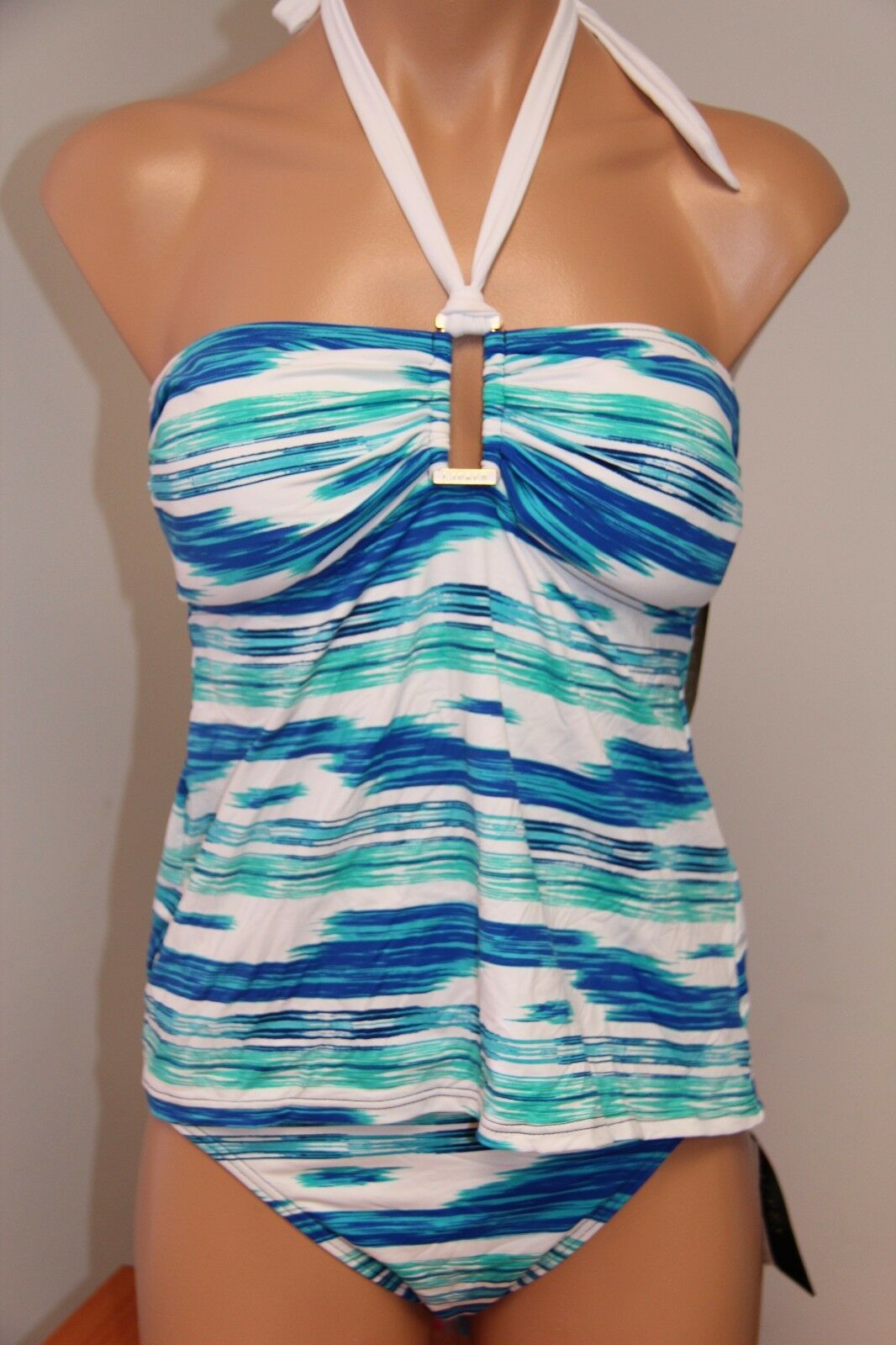 NWT Ralph Lauren Swimwear Bikini  2pc Set Size 8 Tankini Lag Classic