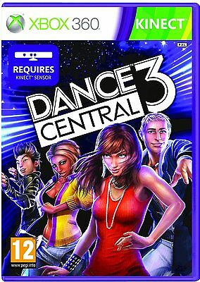 Dance Central 3  Xbox 360 Kinect USA Seller Fast Shipping Just Brand New
