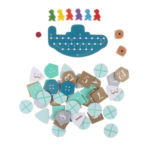 Deep Sea Adventure Board Game with English Instructions Cards Game 2-6Players/_BN