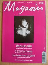 ♫♫♫ DAS MAGAZIN Dezember 12/2000 Venusfalle Friedrichstadt Palast Essex-Untergan