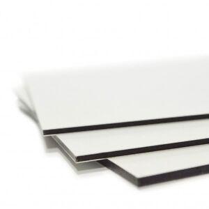 20x15cm Werbeschild Alu Verbundplatte Dibond 2mm