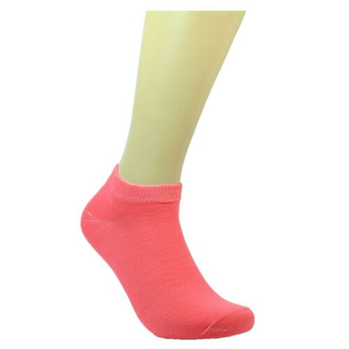 6-12 Pairs Fashion Cotton Women Girls Ankle School Casual Socks Size 9-11 solid