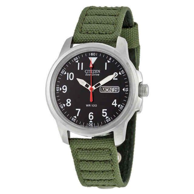 NEW Citizen Military Men's Eco-Drive Watch - BM8180-03E