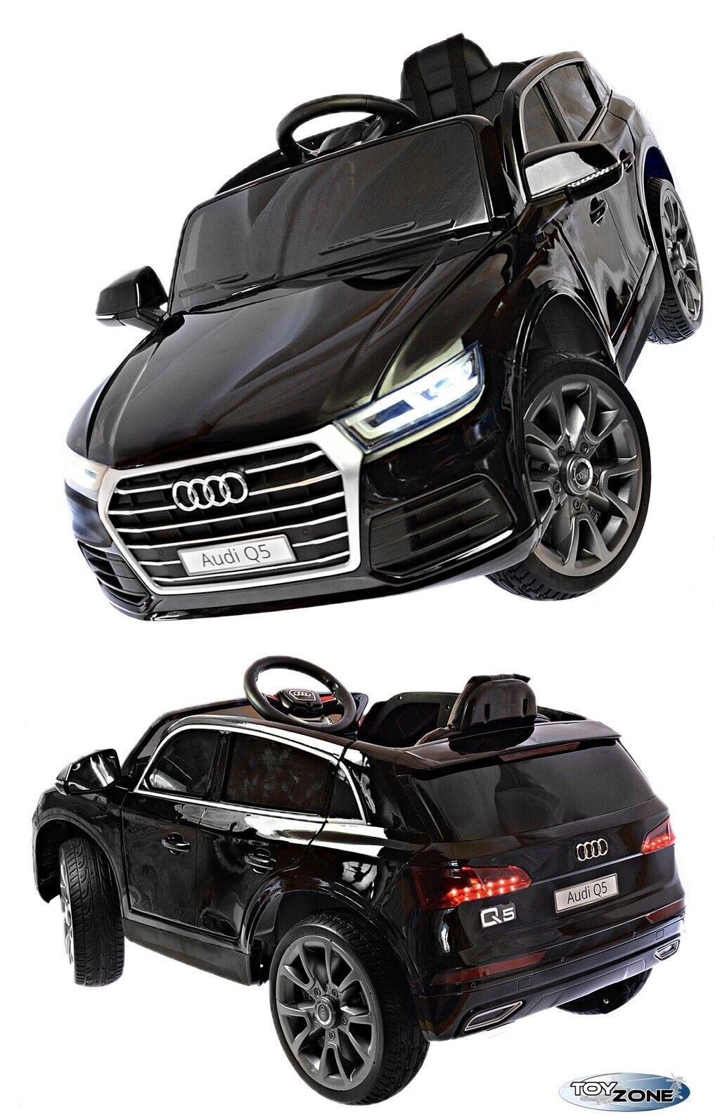 Kinderfahrzeug 12V 12V 12V Kinder Elektro Auto Audi Q5 Kinderauto Gummiräder Ledersitz 2bdf54