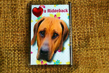 Rhodesian Ridgeback Gift Dog Fridge Magnet 77x51mm Xmas stocking filler