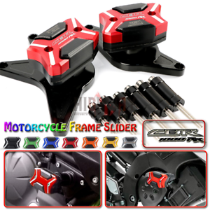 Fuer-Honda-CBR1000RR-2008-2011-2009-Sturzpads-Puig-Slider-Protector-Crashpad-Pads