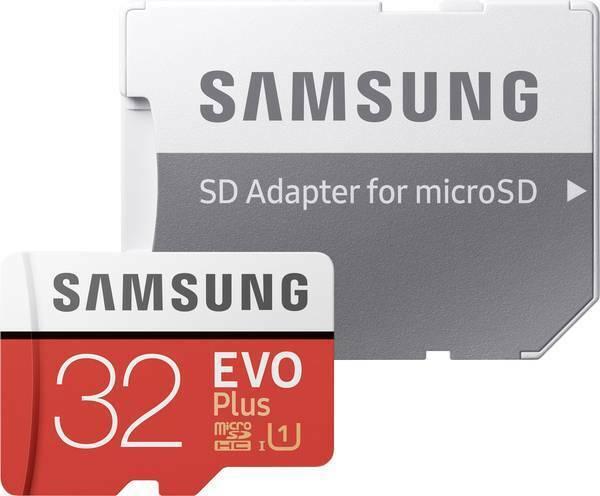 Samsung MicroSDHC EVO Plus 32GB Clase 10 + Adaptador