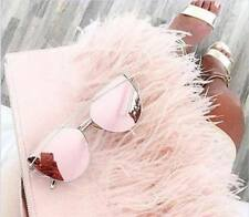 ROSE GOLD PINK CATEYE SUNGLASSES FESTIVAL MARBS KYLIE 2017  ** FREE CASE **   B