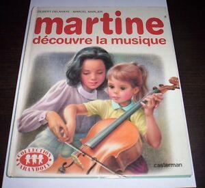 Details Sur Martine Decouvre La Musique Delahaye Marlier 1985 Casterman Livre En Francais