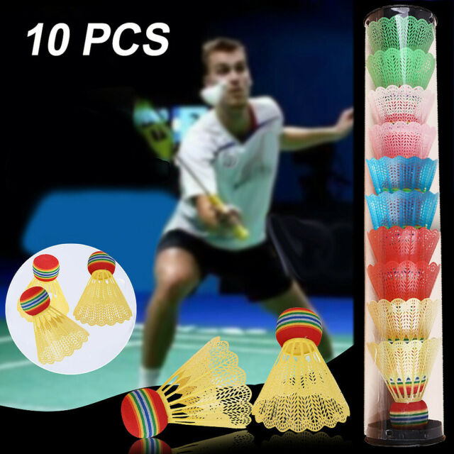12Pcs Colorful Shuttlecocks Leisure Balls Foam Badminton Fitness Sports Games