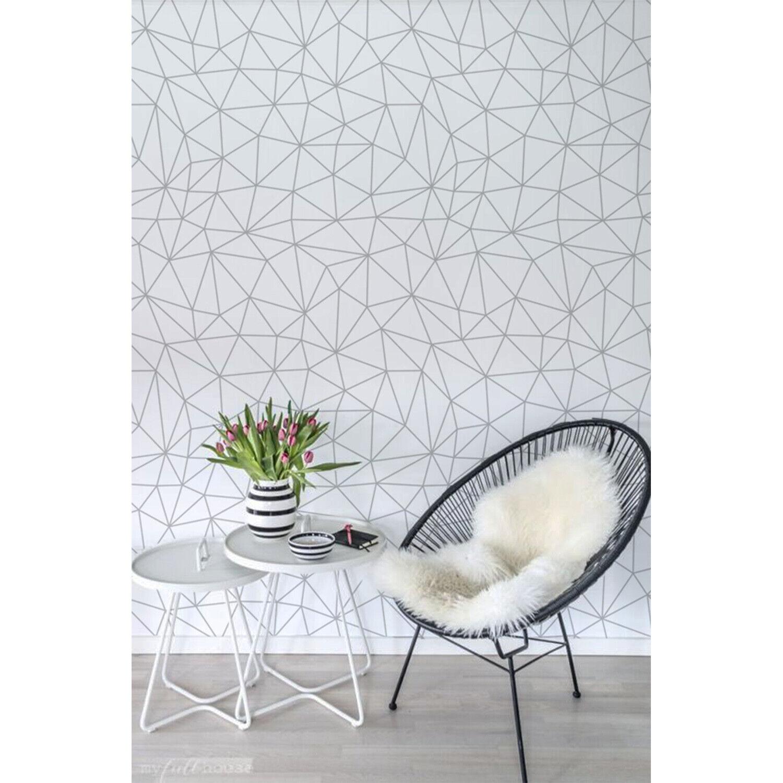 Scandinavian Style Home decor Simple wall mural Geometric Non-Woven wallpaper